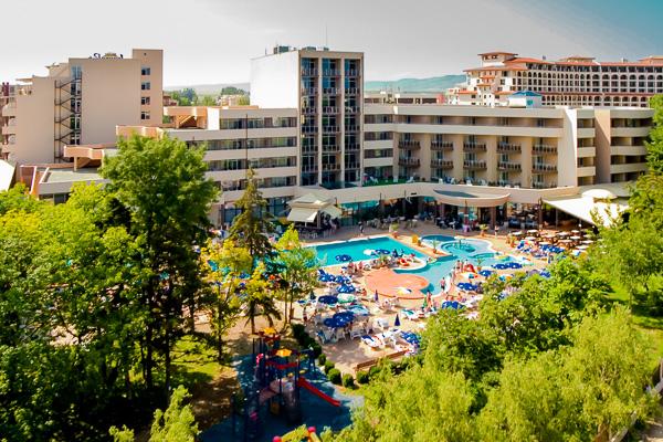 Sunny Beach, Hotel Laguna Park, panorama.jpg