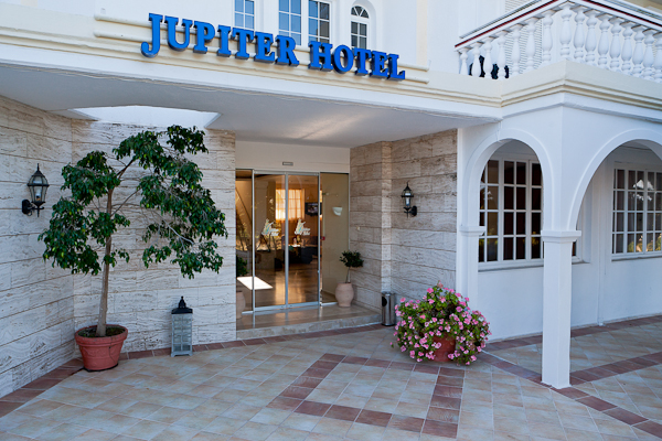Zakynthos, Hotel Jupiter, intrare.jpg