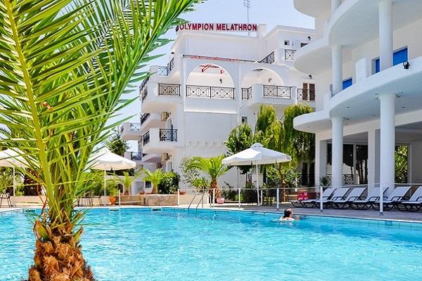 Platamonas, Hotel Olympion Melathron, piscina exterioara.jpg