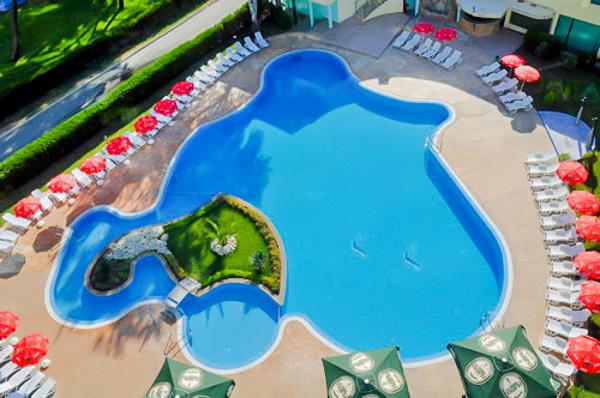Sunny Beach, Hotel Colosseum, piscina exterioara.jpg