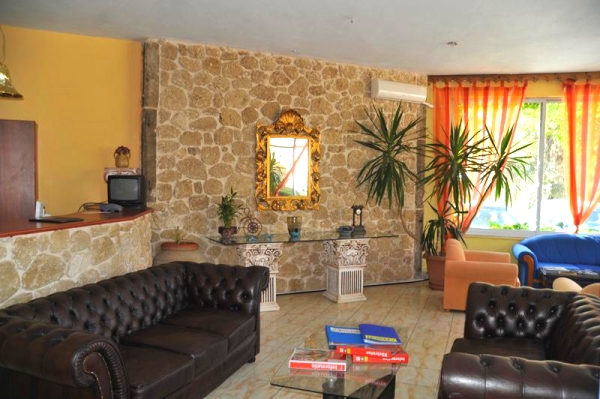 Corfu, Hotel Blue Princess Suites, receptie, lobby.jpg