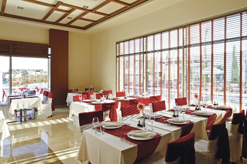 Hotel Sensimar Belek Resort and Spa restaurant.jpg