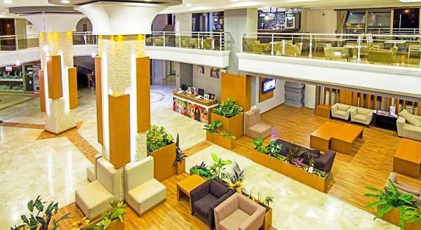 Didim, Hotel Garden of Sun, interior, lobby, lounge, bar.jpg