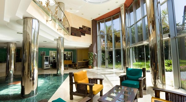Hotel Villa Adeje Beach, Tenerife, interior, lobby.jpg