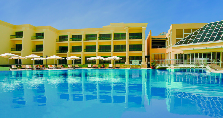 Hurghada, Hotel Hilton Resort, piscina exterioara.jpg