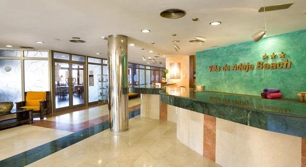 Hotel Villa Adeje Beach, Tenerife, interior, receptie.jpg