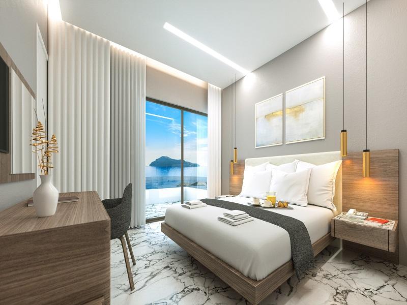 One bedroom apartment - master bedroom.jpg
