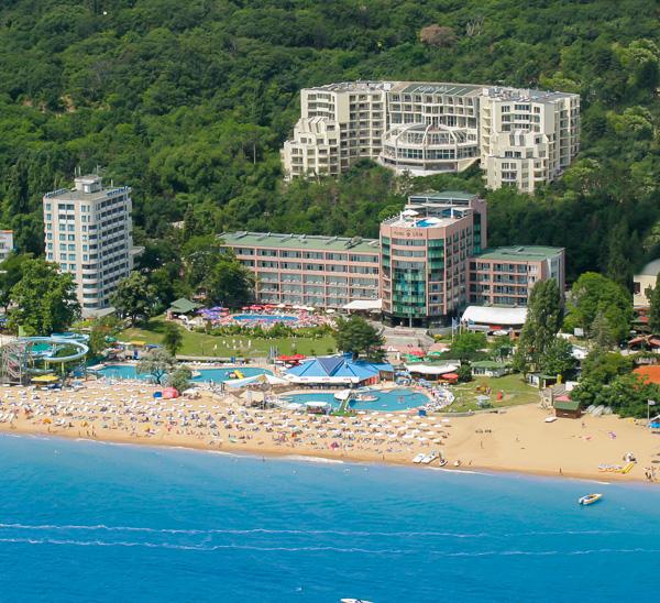 Nisipurile de Aur, Hotel Park Golden Beach, panorama.jpg