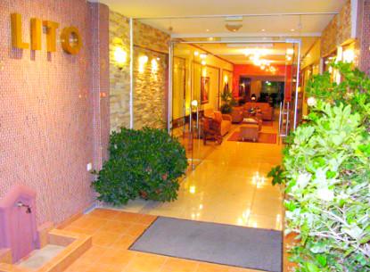 Paralia Katerini, Hotel Lito, exterior, intrare.jpg