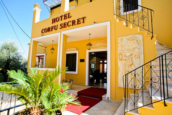 Corfu, Hotel Secret Corfu, intrare.jpg