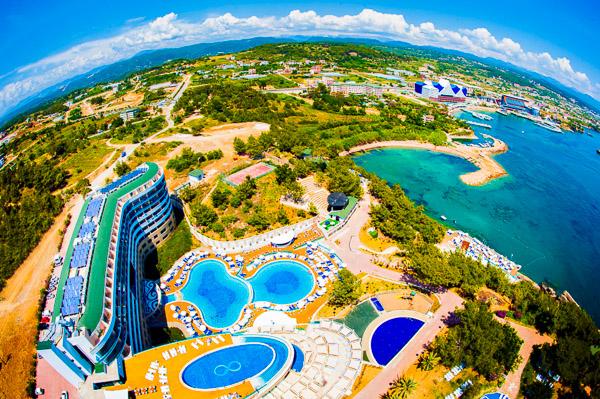 Alanya, Water Planet Hotel & Aquapark, panorama.jpg