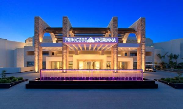 Rodos, Hotel Princess Andriana, intrare.jpg