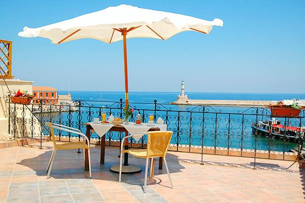 Hotel Belmondo, Chania, exterior, terasa, port.jpg