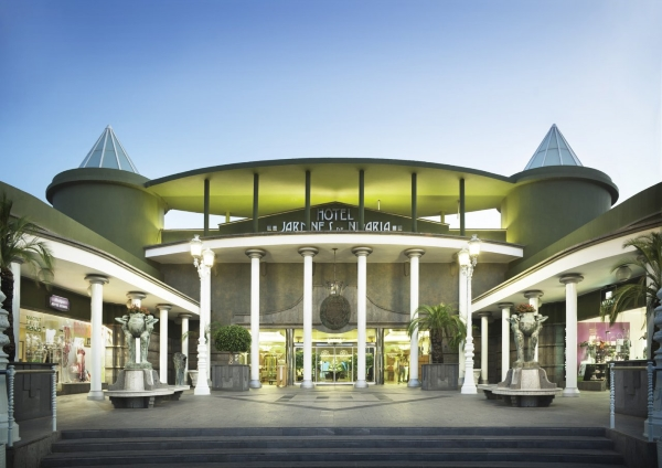 Tenerife, Adrian Hoteles Jardines de Nivaria, exterior, intrare.jpg