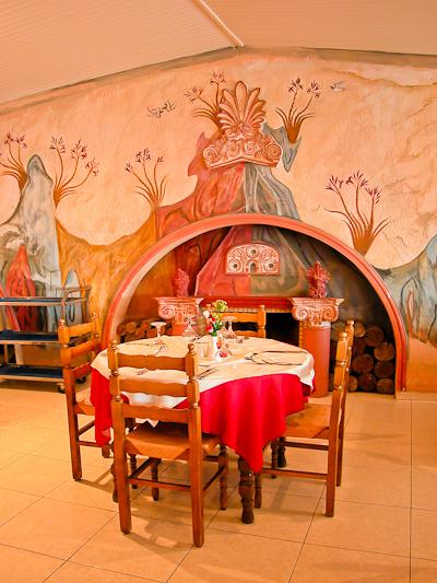 Santorini, Hotel Mediterranean Beach, restaurant.jpg