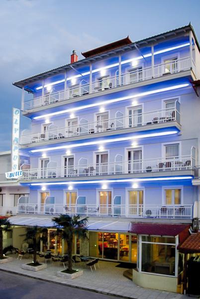 Paralia Katerini, Hotel Olympus, exterior.jpg