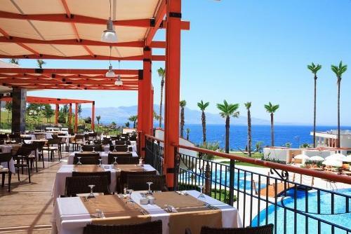 Hotel Kefaluka Resort restaurant.JPG