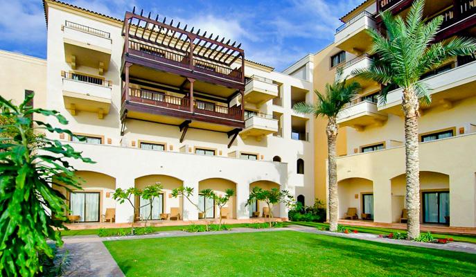 Tenerife, Hotel Vincci La Plantacion, curte.jpg