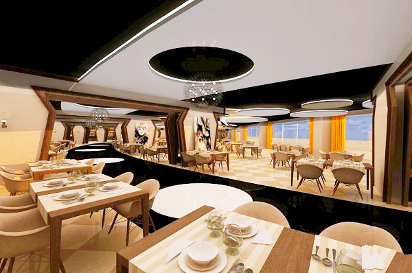 Alanya, Hotel Delphin Botanik Premium, interior, restaurant.jpg