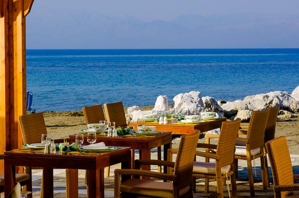 Corfu, Hotel Mitsis Roda Beach, restaurant exterior.jpg