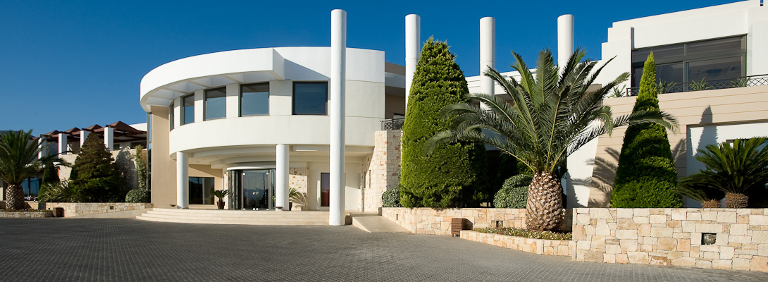 Creta, Hotel Grand Holiday Resort, intrare.jpg