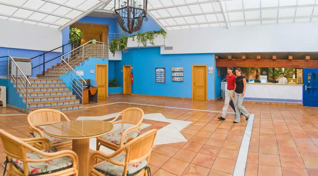 Costa del Sol, Diverhotel Marbella, interior, receptie.jpg