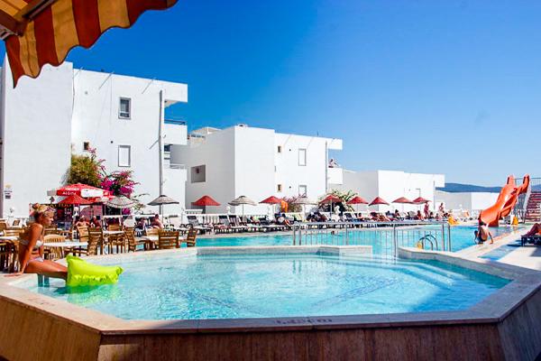 Bodrum, Hotel Gumbet Beach Peda, piscina exterioara.jpg