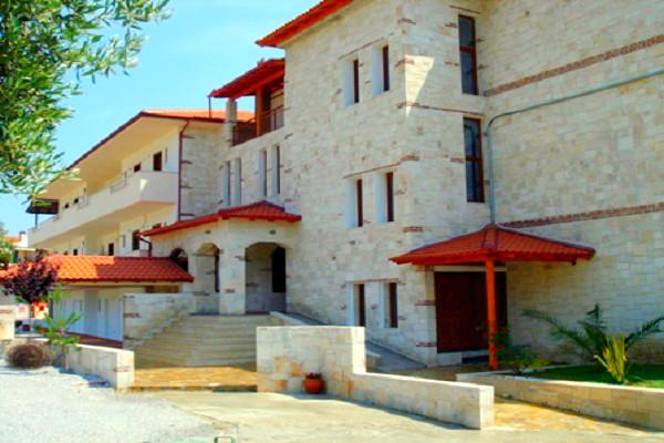 Halkidiki, Hotel Medousa, exterior, hotel, intrare.jpg