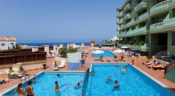 Hotel Villa Adeje Beach, Tenerife, exterior, piscina, hotel.jpg