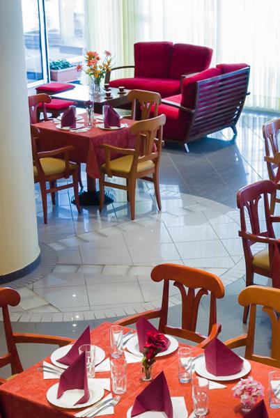Paralia Katerini, Hotel Olympus, restaurant.jpg