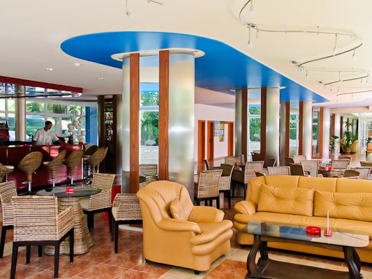 Nisipurile de Aur, Hotel Perla, lobby.jpg
