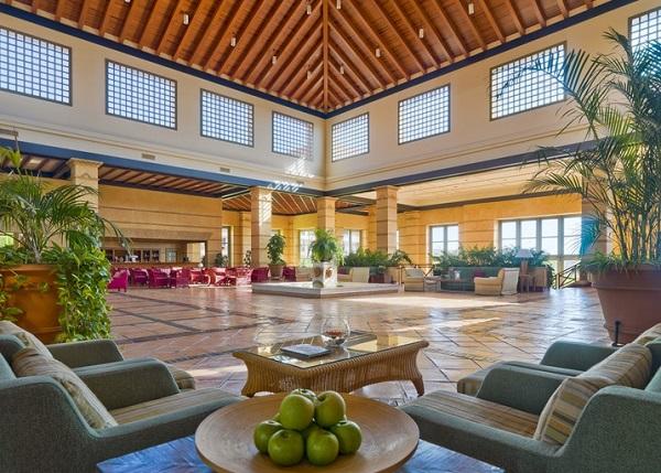 H10 Costa Adeje Palace, Tenerife, interior, lobby.jpg