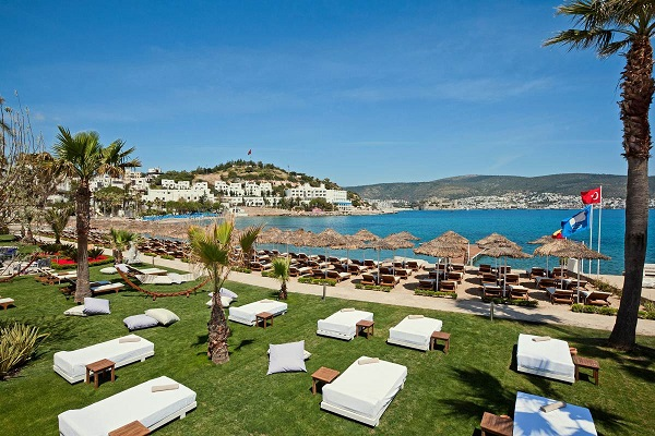 Bodrum, Hotel Voyage, exterior, plaja privata.jpg
