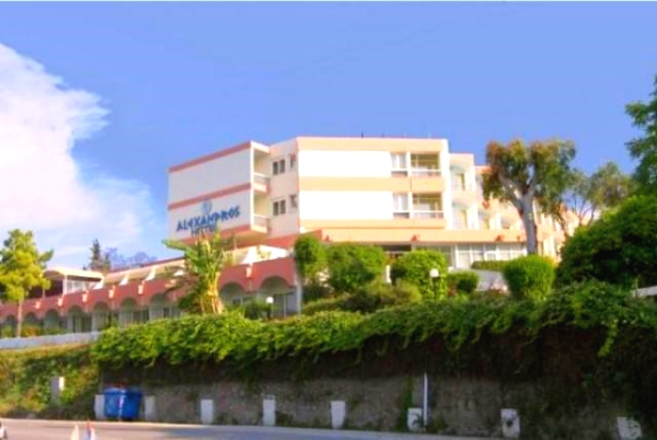 Corfu, Hotel Alexandros, exterior, intrare.jpg