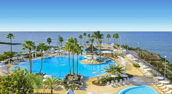 Tenerife, Hotel Iberostar Anthelia, piscina, priveliste.jpg