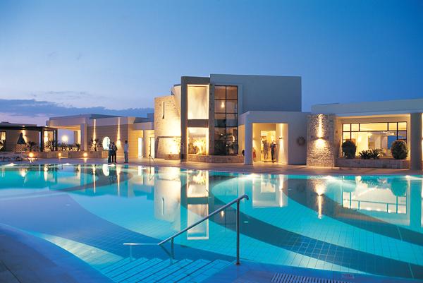 Creta, Hotel Grand Holiday Resort, piscina exterioara.jpg