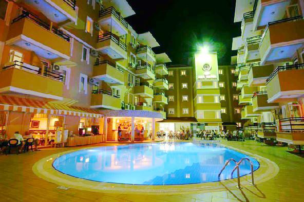 Alanya, Hotel Kleopatra Ada, exterior, hotel, piscina, terasa.jpg
