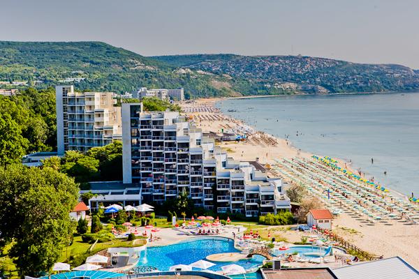 Albena, Hotel Slavuna, panorama.jpg