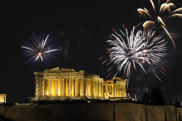 Fireworks over the Parthenon.jpg