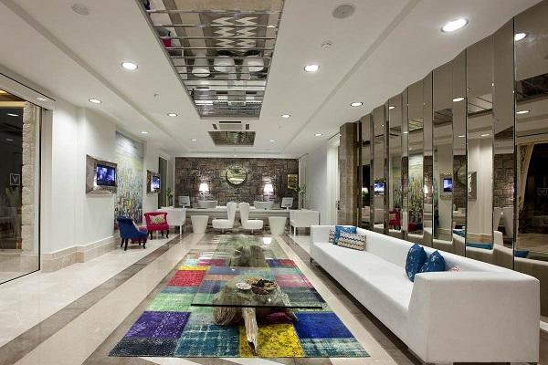 Bodrum, Hotel Voyage, interior, lounge.jpg