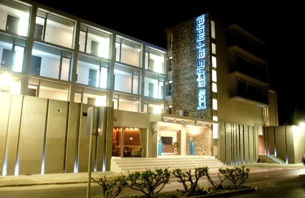 Kos, Hotel Aktis Art, exterior, intrare.jpg